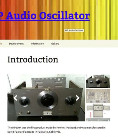 HP Audio Oscillator